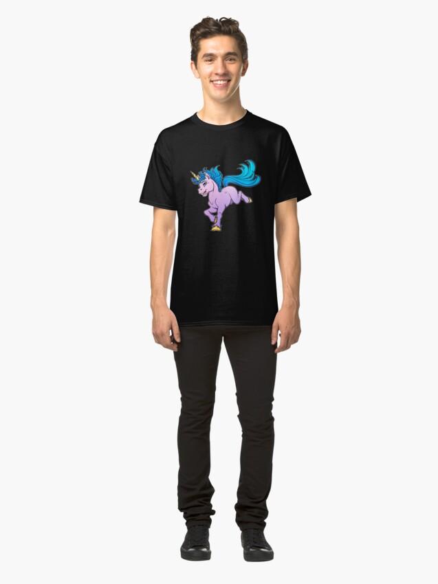 Alternate view of Sweet Sparkle Unicorn Classic T-Shirt