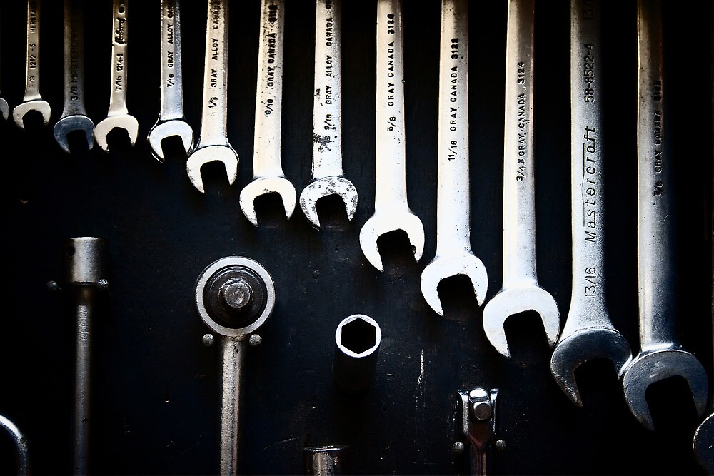 Spanners by knobby