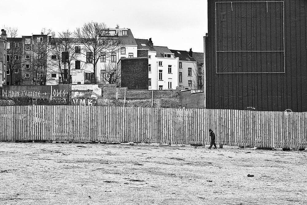 Urban segregation by Nayko