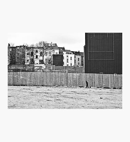 Urban segregation Photographic Print