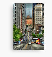 California Street Canvas Print