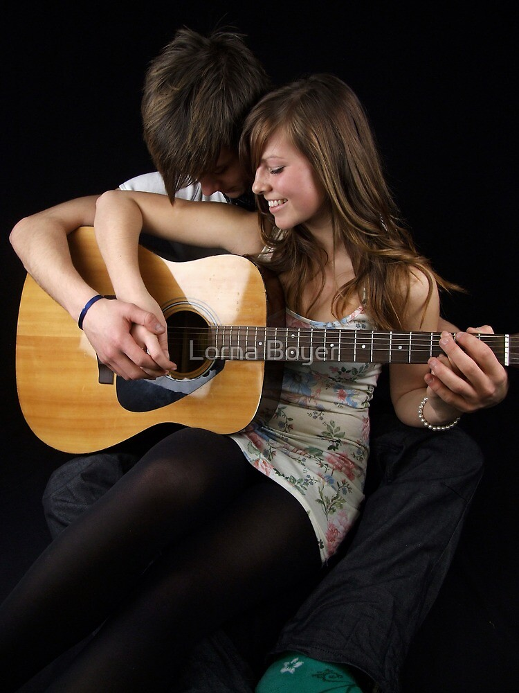 Smiles, Kisses and Guitars by Lorna Boyer