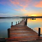 Dock over the Lake  by JordanT8590