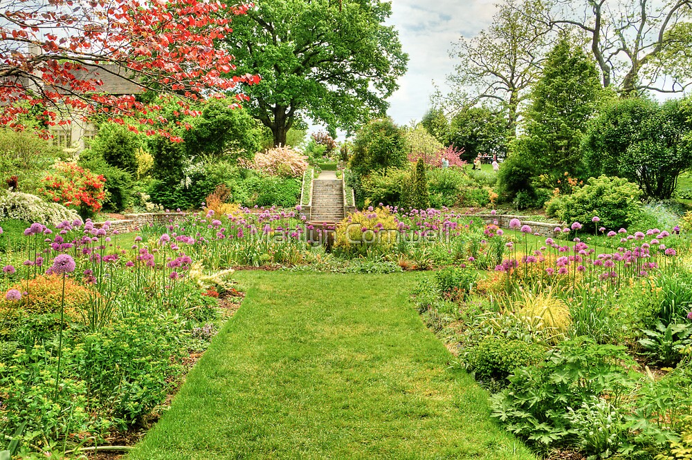 Chanticleer Circle Garden by Marilyn Cornwell