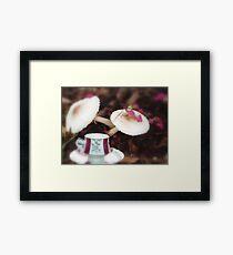 Time for tea in Wonderland Framed Print