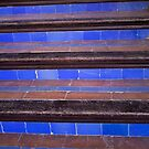 blue staircase by youngkinderhook