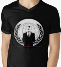 A ^ NON PiXEL ^ RT de RootCat T-shirt col V homme