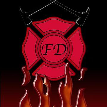 Up in Flames by bradleyduncan