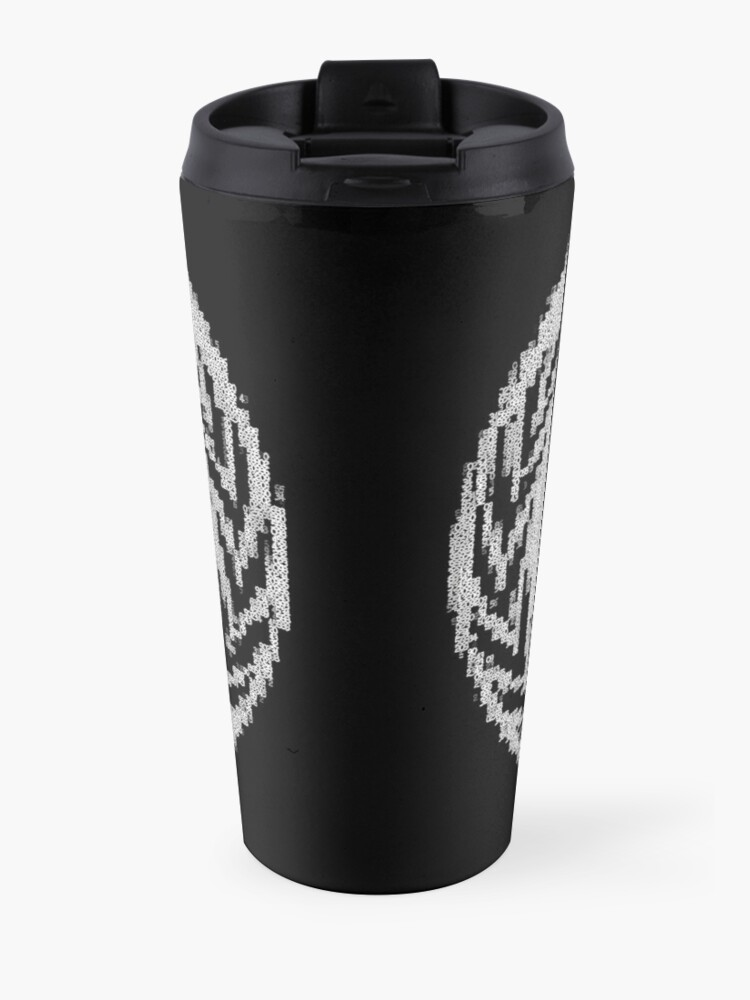 Alternate view of _A^NON ASCii ^RT by RootCat __2019 Travel Mug