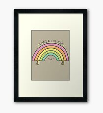 TRUTH BE TOLD.... Framed Print