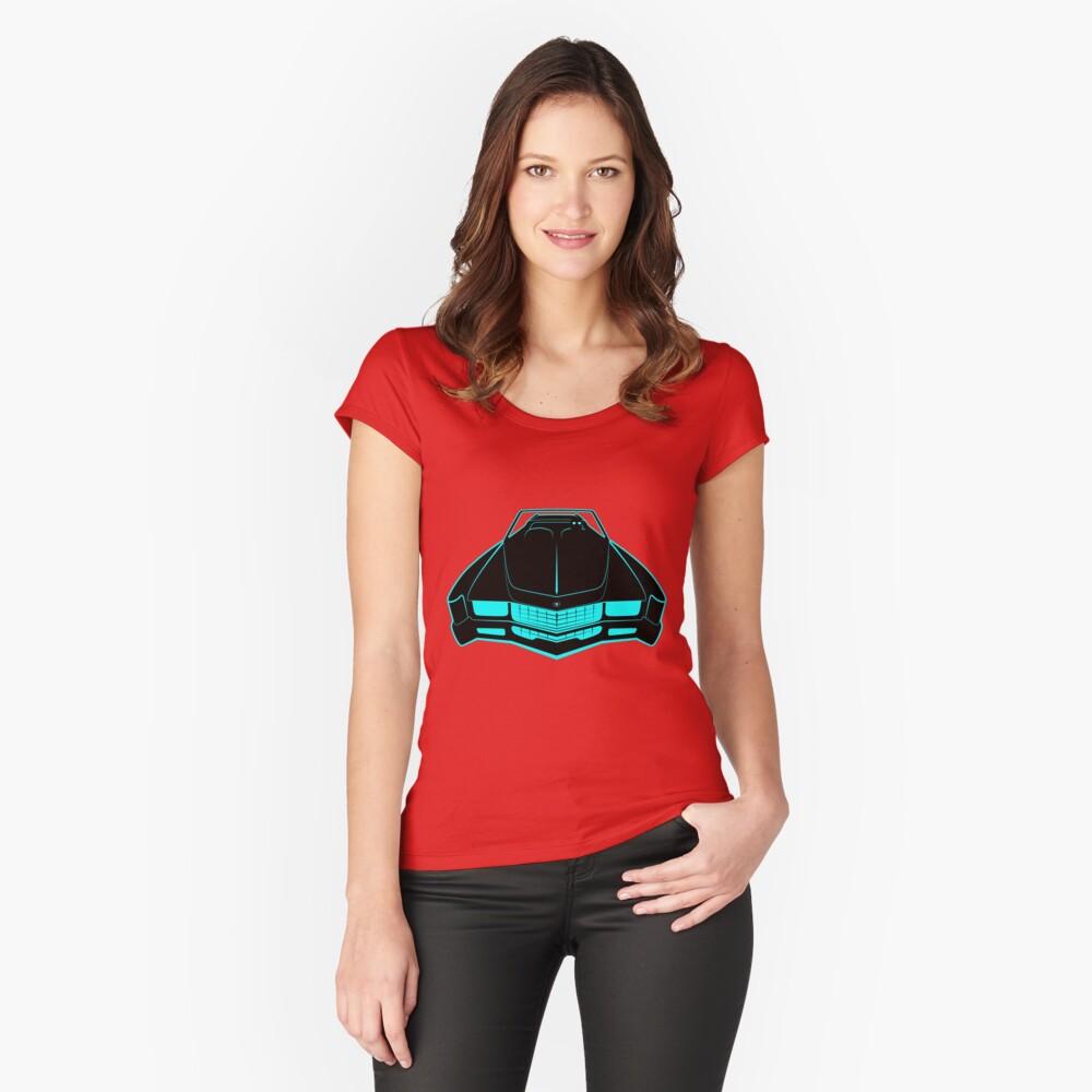 Cadillac Eldorado - Fake News Confidential Fitted Scoop T-Shirt
