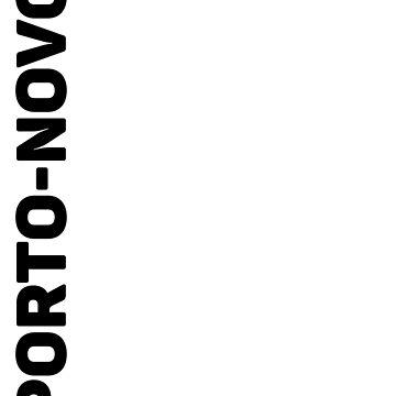 Porto-Novo T-Shirt by designkitsch