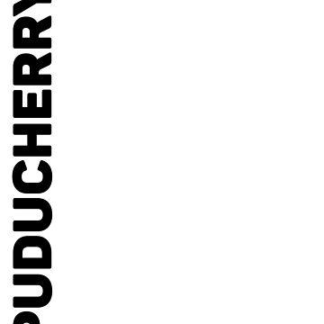 Puducherry T-Shirt by designkitsch