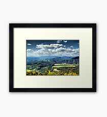 Scenic Lookout Framed Print