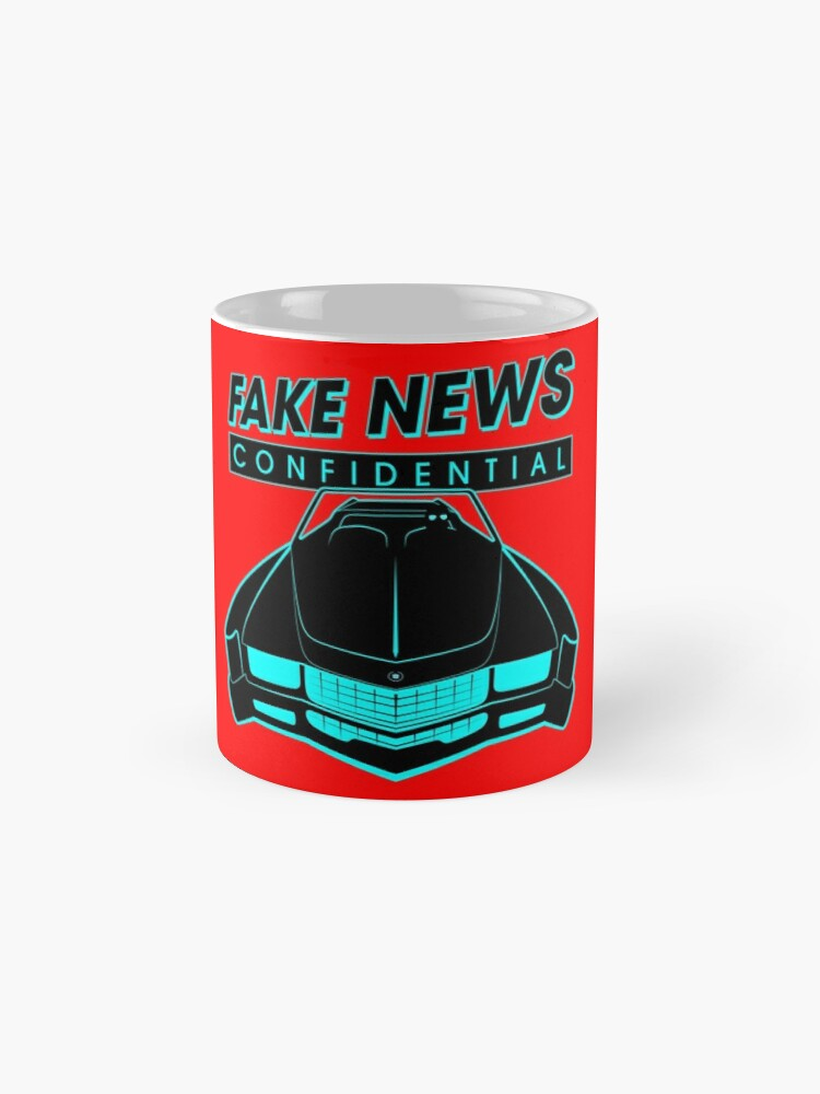 Alternate view of Fake News Confidential - Cadillac Eldorado Mug