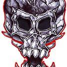 Dark Head by paintcave