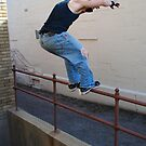 I don't hold onto railings! by Eric LeClair