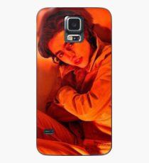 Timothée Chalamet Orange Hülle & Klebefolie für Samsung Galaxy