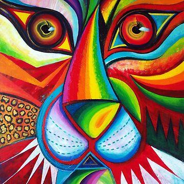 Tiger Abstract 2019 by karincharlotte
