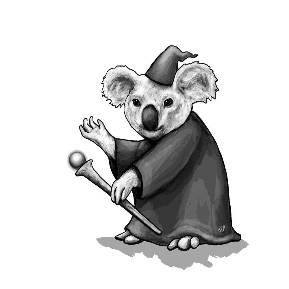 Koala Wizard by Mandy Moonbird