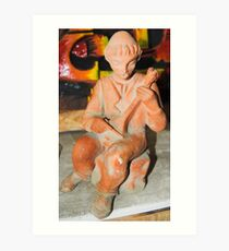 Ceramic sculptures F.Kalemi 19 Art Print