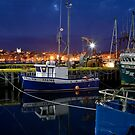 Twilight at the Waterfront by Brian Carey