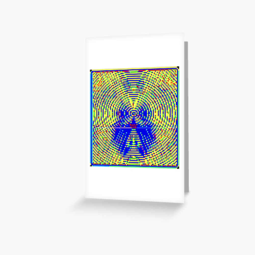 STR^B^LIFE (4) by RootCat  Greeting Card
