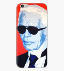Karl Lagerfeld Malerei iPhone-Hülle & Cover