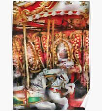 Americana - The Carousel - Painted Version Poster