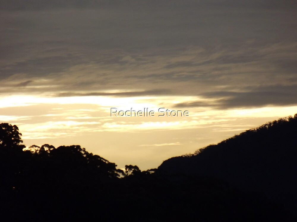 Byron Bay at Sunset by Rochelle Stone