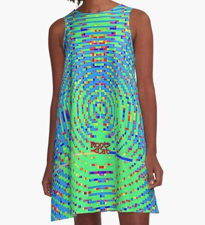 STR^B^LIFE (23) by RootCat A-Line Dress
