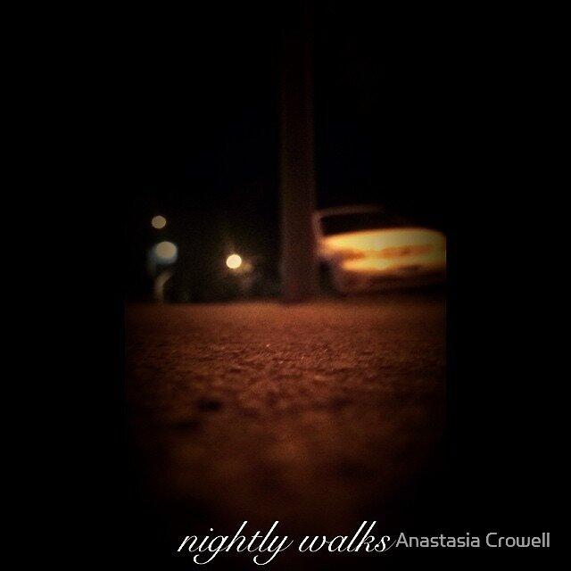 Nightly walk by Anastasia Crowell