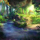 «Bosque de los Elfos 4» de Johannes Kert Roots