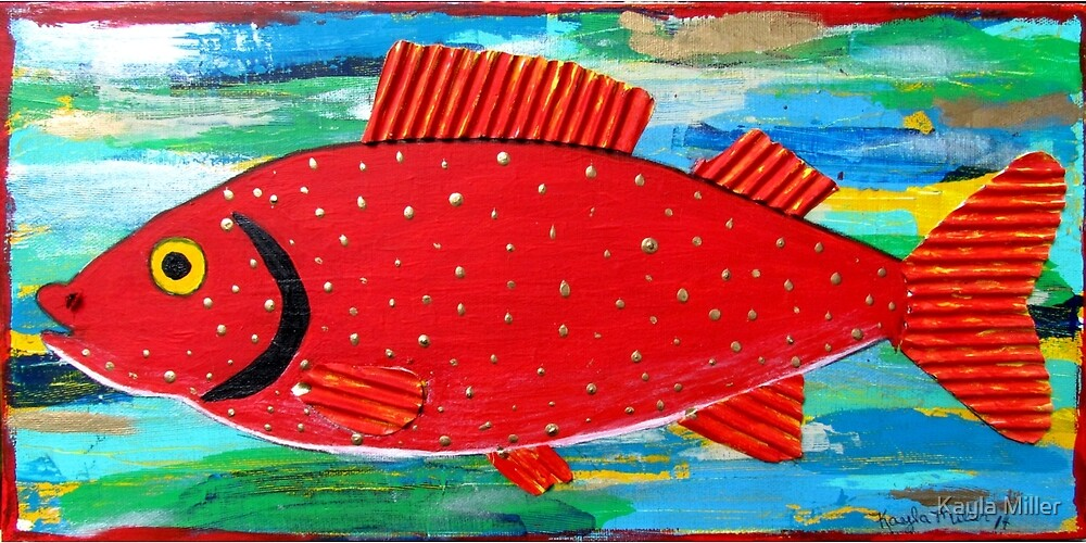 Red Fish by Kayla Miller