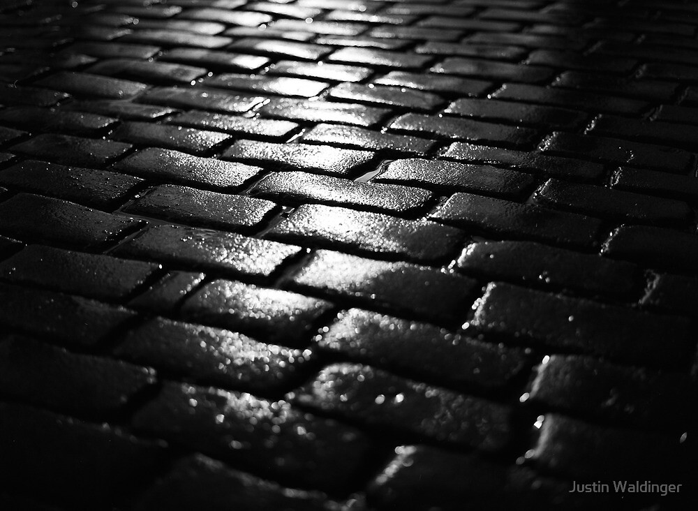 cobblestone curfew by Justin Waldinger