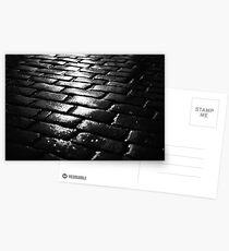 cobblestone curfew Postcards