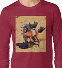 Bucking Bronco and Rodeo Cowboy Art  T-Shirt
