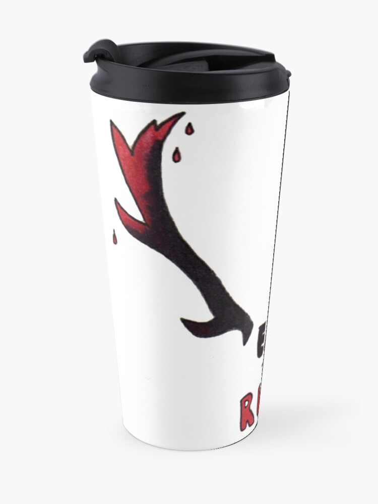 Alternate view of Hannibal - Eat The Rude Bloody Antlers Travel Mug