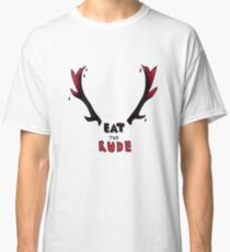 Hannibal - Eat The Rude Bloody Antlers Classic T-Shirt