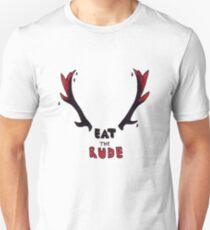 Hannibal - Eat The Rude Bloody Antlers Unisex T-Shirt