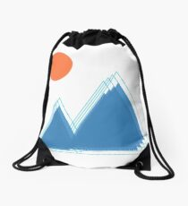 shadow hills Drawstring Bag