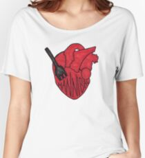 Hannibal - Fork In Heart Women's Relaxed Fit T-Shirt