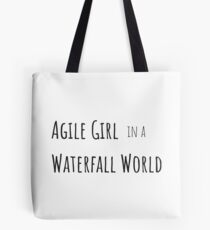 Agile Girl Tote Bag