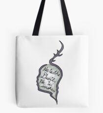 Hannibal - He Is the Devil, He is Smoke Tote Bag