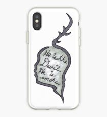 Hannibal - He Is the Devil, He is Smoke iPhone Case