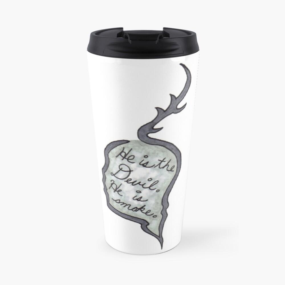 Hannibal - He Is the Devil, He is Smoke Travel Mug