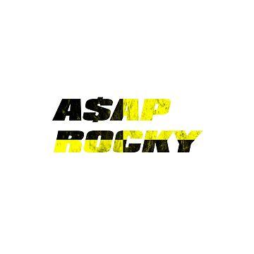 A $ AP Rocky // Prueba T de DesignedByOli