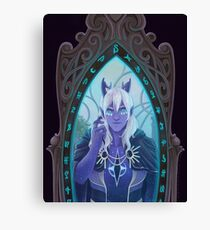 Aaravos - The Man in the Mirror Canvas Print
