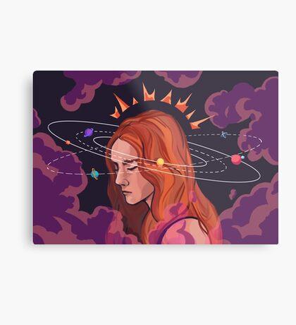 Conscious Metal Print