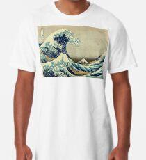 Hokusai, The Great Wave off Kanagawa, Japan, Japanese, Wood block, print Longshirt